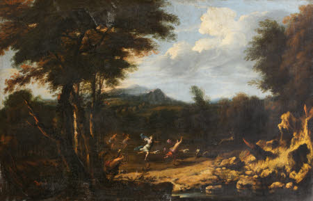 Landscape with Diana at the Chase