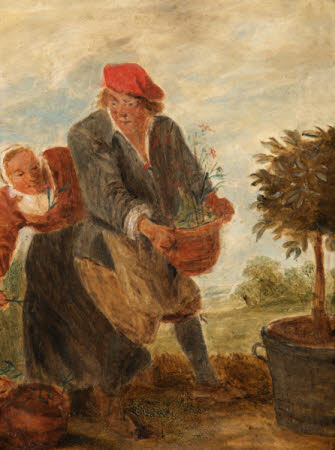 A Gardener and his Wife
