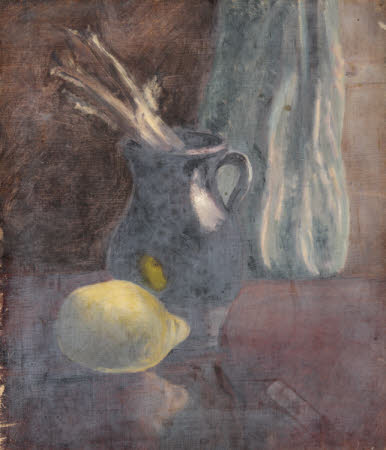 Still life with Jug and Lemon