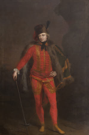 William Windham II (1717-1761) in the Uniform of a Hussar