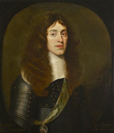 King James II (1633–1701) as Duke of York, aged 27