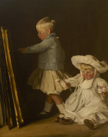 Francis and Christopher Bacon (Sons of Thomas Walter Bacon (1873-1950) of Ramsden Hall, Essex)