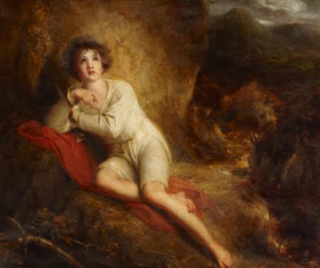 Edwin from James Beattie's 'The Minstrel' (1771/4)