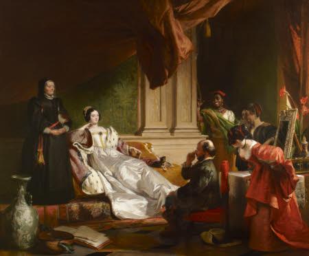 Sancho Panza and the Duchess (from Cervantes's 'Don Quixote of La Mancha' [1605-15])