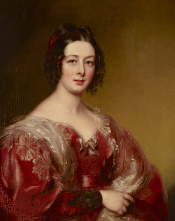 Lady Charlotte Wyndham, Mrs King (1795-1870)