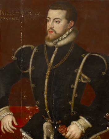 King Philip II, King of Spain (1527 – 1598)