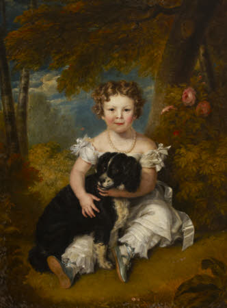 Lady Adelaide Georgiana Fitzclarence (1821-1883) as a Child