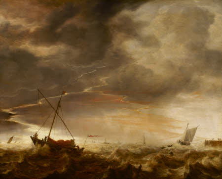 Seascape: Storm at Sea