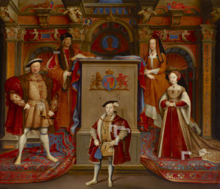King Henry VII (1457–1509), Queen Elizabeth (of York) (1466–1503), King Henry VIII (1491-1547), ...