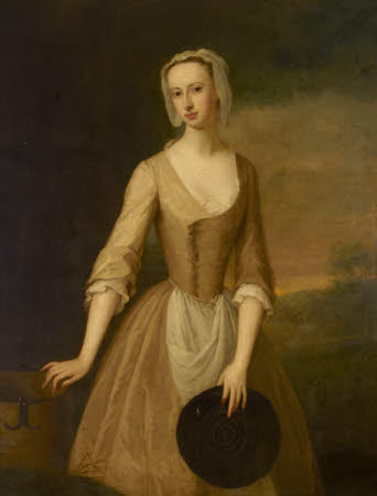 Lady Catherine Hyde, Duchess of Queensberry (1700-1777) as a Milkmaid
