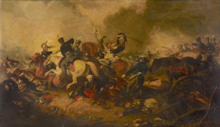 Marshal Blucher at the Battle of Ligny, 16 June 1815