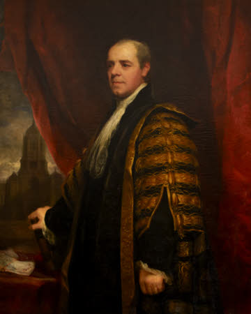 William Wyndham Grenville, Baron Grenville (1759-1834) as Chancellor of Oxford University