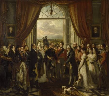 The Allied Sovereigns at Petworth, 24 June, 1814
