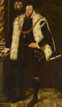 Sir Henry Sidney KG (1529-1586), aged 44