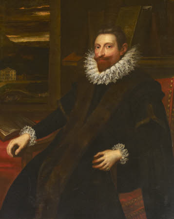 An Unknown Gentleman, possibly a Venetian, but formerly called Robert Hopton