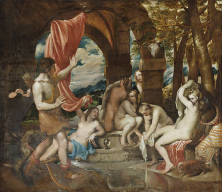 Diana and Actaeon (after Titian)