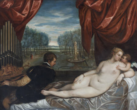 Venus and Organ Player (after Titian)