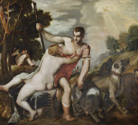 Venus and Adonis (after Titian)