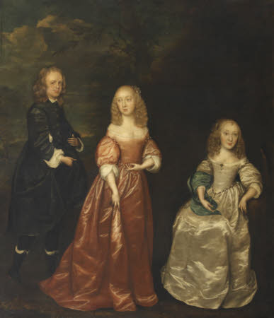 Elizabeth Murray, Countess of Dysart (1626-1698), with her First Husband, Sir Lionel Tollemache ...