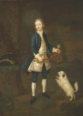Wilbraham Tollemache, 6th Earl of Dysart (1739-1821) as a Boy