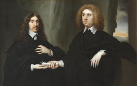 William Hamilton, 2nd Duke of Hamilton (1616-1651) with John Maitland, Earl (later) Duke of ...