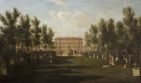 Ham House from the South (around 1675-79)