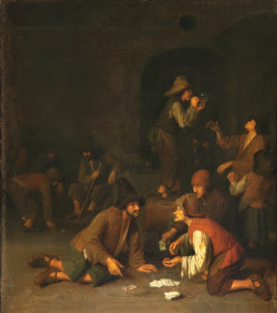 Boors playing at Cards