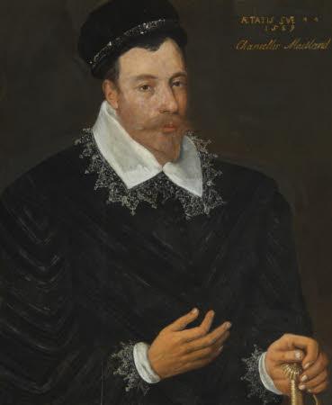 Sir John Maitland, 1st Baron Maitland of Thirlestane (1543-1595), aged 44