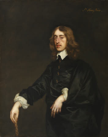 An Unknown Gentleman, called Sir Henry Vane the younger (1613-1632) but possibly William Alington, ...