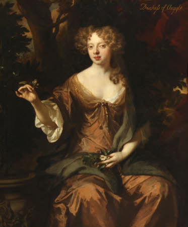 Lady Elizabeth Tollemache, Lady Lorne, later Duchess of Argyll (1659-1735)