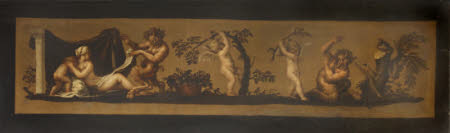 Nymph, Cupids and Satyrs