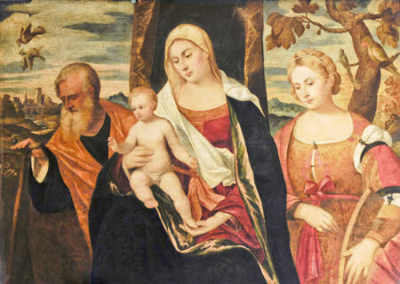 Virgin and Child with Saints Joseph and Catherine of Alexandria