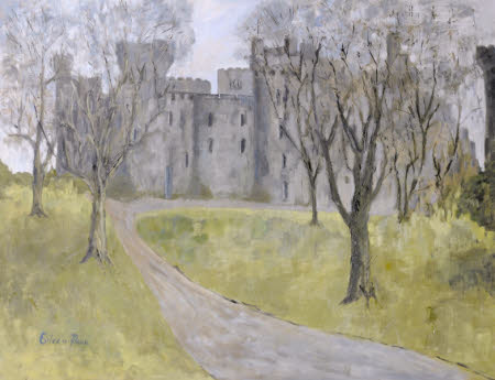 Penrhyn Castle from the North