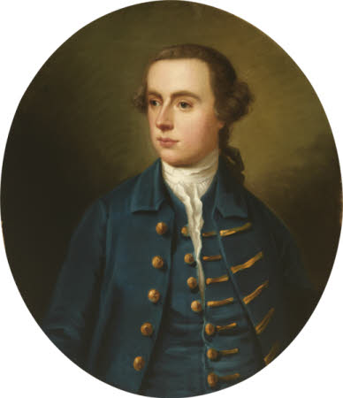 An Unknown Young Man in Blue