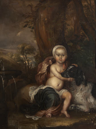 Portrait of a Baby, called (impossibly) Lord Conyers Obsborne, but either William Henry Osborne, ...