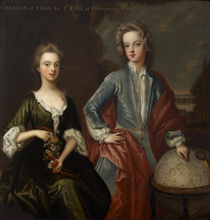 William Godolphin, Viscount Rialton, later Marquess of Blandford (1700-1731) and his Sister, ...