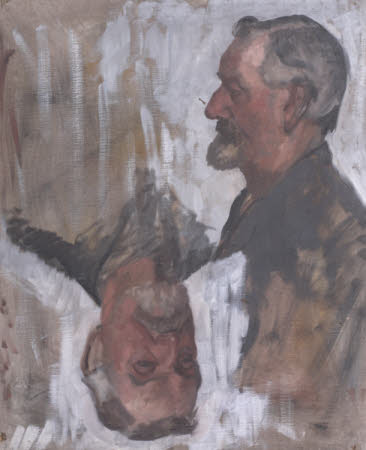 Two Studies of an Unknown Man