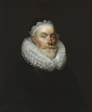 Francis Knollys the younger (1553-1646) (after Cornelius Johnson)