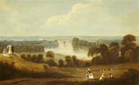 A View of the Thames from Richmond Hill