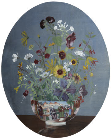 Flowers in a Chinese Bowl