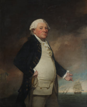 Admiral Sir Hyde Parker, 5th Bt (1714-1782)