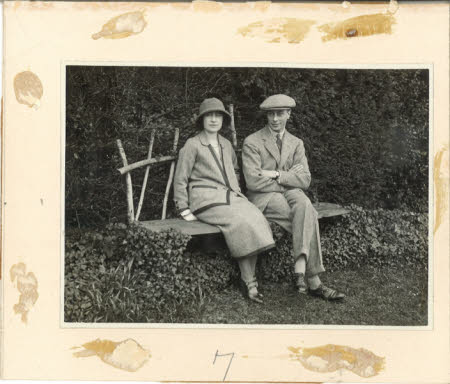 The Duke of York, later King George VI (1895-1952) and the Duchess of York later Queen Elizabeth ...