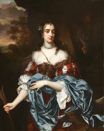 Lady Elizabeth Pope, Lady Lee, later Countess of Lindsey (1660-1719) as Diana