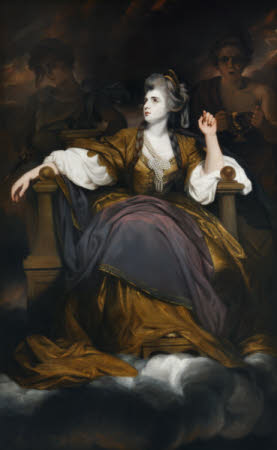 Mrs Sarah Siddons (née Kemble) (1755-1831) as 'The Tragic Muse'