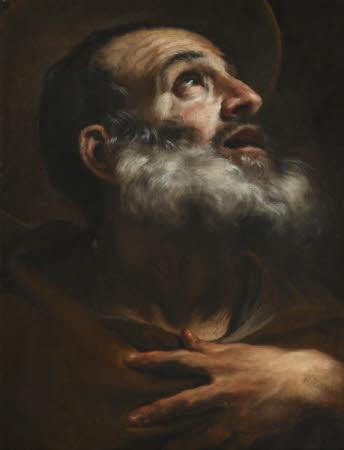 Head of an Apostle or Monastic Saint