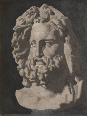 Head of Jupiter, Study from a Classical Sculpture