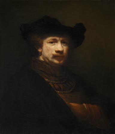Self-portrait (after Rembrandt)