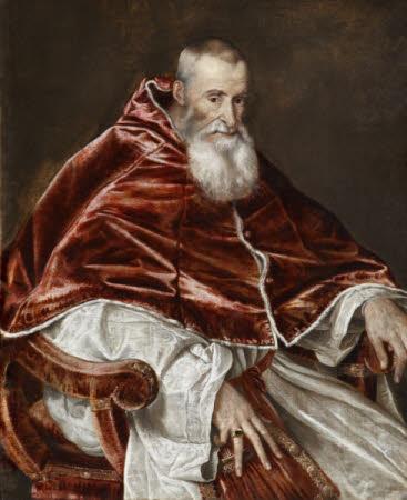 Pope Paul III (Alessandro Farnese) (1468-1549)