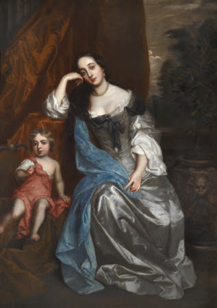 Barbara Villiers, Countess of Castlemaine and Duchess of Cleveland (1641-1709) with her Daughter, ...
