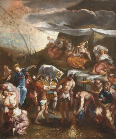 The Adoration of the Golden Calf (after Tintoretto)